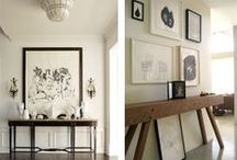 B+W Art in rooms