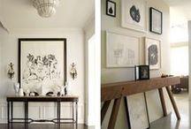 B+W Art in rooms