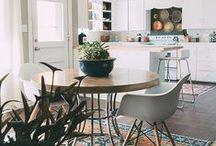 DECO ❀ kitchen / Una de las estancias más encantadoras del hogar, para comer, para reir, para bailar...