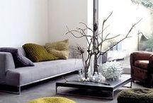DECO ❀ living rooms / Estancias para compartir el ocio y el descanso con la familia y los amigos.