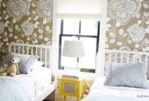 DECO ❀ habitaciones infantiles / La habitación de los más peques es un lugar para soñar, para reir, para descansar...