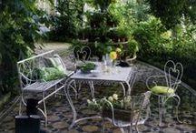 DECO ❀ exteriores / Decoraciones de exterior, jardines, patios, balcones...