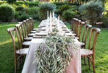 cutlery + table settings