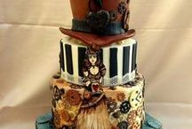 Steampunk Cakes & Cookies / by Paula Hinton