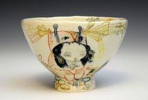 Pottery, cups and pitchers / Kopper og kar