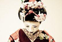 Japanese art, gardens, textiles, people / Japan
