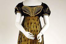 1800's fashion / 1800-tallet mote
