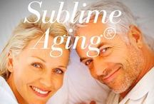 Sublime Aging® Magazine / A New eMagazine All About Aging Well! Our Website is found at www.sublimeagingmag.com.   Our Magazine is on Issuu.com and soon on Apple!