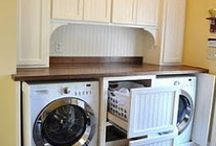 Laundry / I'm in the process to moving the closet & mudroom ideas to their boards. / by Mona Robbins