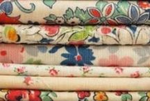 Beautiful Forties Fabrics / Vintage and modern fabrics with that distinctive 1940s style.