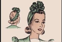 1940s Sewing Patterns / Original patterns from the forties.