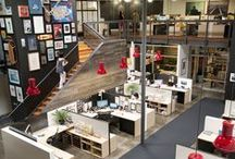 Office Space / Unique and creative office space examples for all business types. Ideas for new office space, office relocation projects, tenant improvement allowances, office remodeling and facility construction. Focus on commercial real estate and office design.