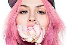 Beauty / Beautiful faces, natural and makeup-enhanced