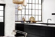 keukens - zwart / Moodboard voor de perfecte zwarte keuken