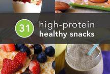 Healthy Snacks! / Healthy, nutritious snack options.