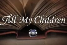 All My Children / I watched the first episode all the way to the last.  The show brought me many years of enjoyment.  I loved the characters, the storylines and all of Pine Valley.   / by Gail Myatt