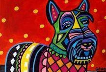 Infografías e ilustraciones / #infografias #ilustración #perros #mascotas #animales
