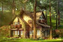 ♥domčeky♥ / domčeky, záhradky....