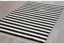 Black & White Rugs / Looking for a statement piece-Black & White is the way to go!