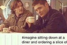 Supernatural!! / Misha, Jared, and Jensen, oh my!!
