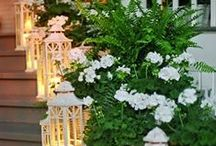 flowers,vases & candles / Floral arrangements with vases, candles & flowers.