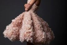 Evening Gowns / Evening gown inspiration. Design, embellishment and fabric ideas.