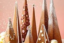 Gingerbread trees - Kakgranar