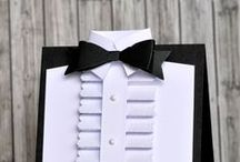 suit, shirt, tuxedo - cards / suit, shirt, tuxedo, cards, card making, paper, gift, Father, Dad, Husband, Brother