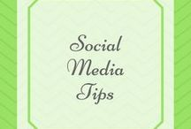 Social Media Tips / Pinterest Tips, Instagram Tips, Facebook Tips for growing your audience
