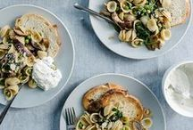 recipes | savory / appetizers, lunch and dinner recipes