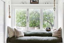 nooks / interior design ideas for nooks in your home