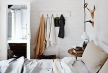 bedrooms + closets / inspiration for home decor + interior design ideas for decorating your bedroom