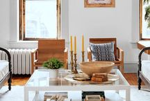 living rooms / inspiration for home decor + interior design ideas for decorating your living room