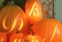 Fall/Thanksgiving/Halloween / by Melissa Gustafson