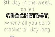 A stitch a day keeps me happy! / crochet ideas