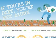 Infographics / Some infographics and charts about money, personal finances, savings, debt and budgets. / by Advantage Credit Counseling Service