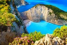 """Zakynthos Island / Zante the third in size of the islands of the Ionian Sea, the green island of poetry, of song and love, the native land of D. Solomos, the writer of the Greek National Anthem but also that of St. Dennis, the Patron Saint. Rich in beauty and tradition, both historical and cultural, Zante is the """"ideal"""" of any traveler with an exploring mind."""