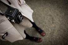 Cameras / by Suz @ BeesLikeHoney