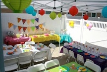 Rainbow Birthday Party / by Cindy