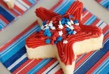 4th of July / Great ideas for celebrating this patriotic holiday!