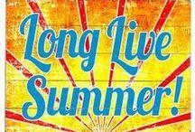 Sunny summer days