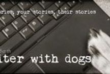 Writer With Dogs