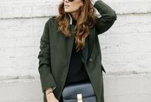 fall | mood + style / inspiration for fall outfitting // street style // moodboard