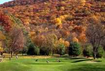 Autumn Golf Courses / GolfStinks wants a collection of the coolest autumn golf course scenes! Just a friendly reminder that content unrelated to fall golf will be removed. To pin to this board, email: info@golfstinks.com.