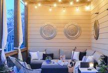 DESIGN: PATIOS / interior design ideas for patios