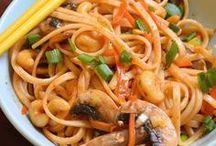 """NOODLES / Recipes using noodles that aren't """"pasta"""""""