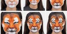 Animal Face Paint Designs