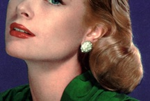 """Hollywood Glamour: Timeless Inspiration / The """"Golden Age"""" of Hollywood provides timeless inspiration for glamorous beauty looks. The looks that are still stunning despite of the decades passed. Why these looks are still so alluring and appealing after so many years? The answer is: they are classic!"""