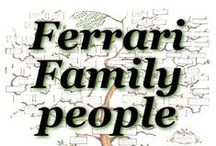 Ferrari Family people / Please pin here photos of yourself and of your family members. And share your stories as comments below your pins, or please send us your message to be pinned to our best fitting board.