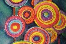 Projets d'arts 2D / Des idées de projets pour la classe d'arts plastiques / by Louise Gagnon